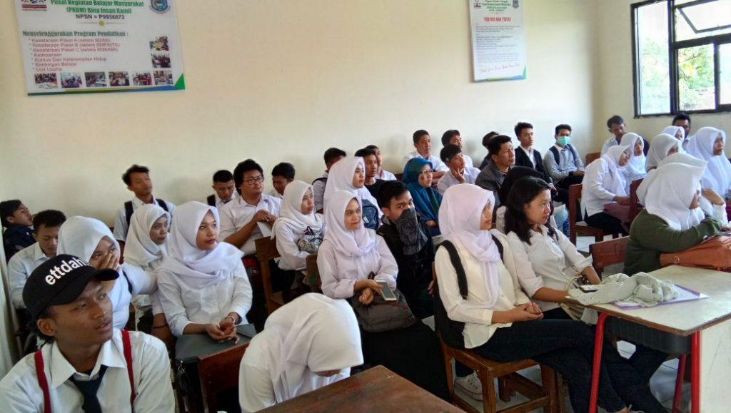 pusat kegiatan belajar masyarakat pkbm bina insan kamil paket a, paket b, paket c ipa ips 2017-2018