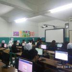 UNBK Paket C PKBM Bina Insan Kamil 2017-2018 di SMP Muhammadiyah serpong (10)