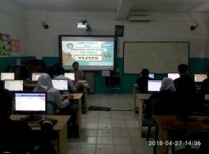 UNBK Paket C PKBM Bina Insan Kamil 2017-2018 di SMP Muhammadiyah serpong (16)