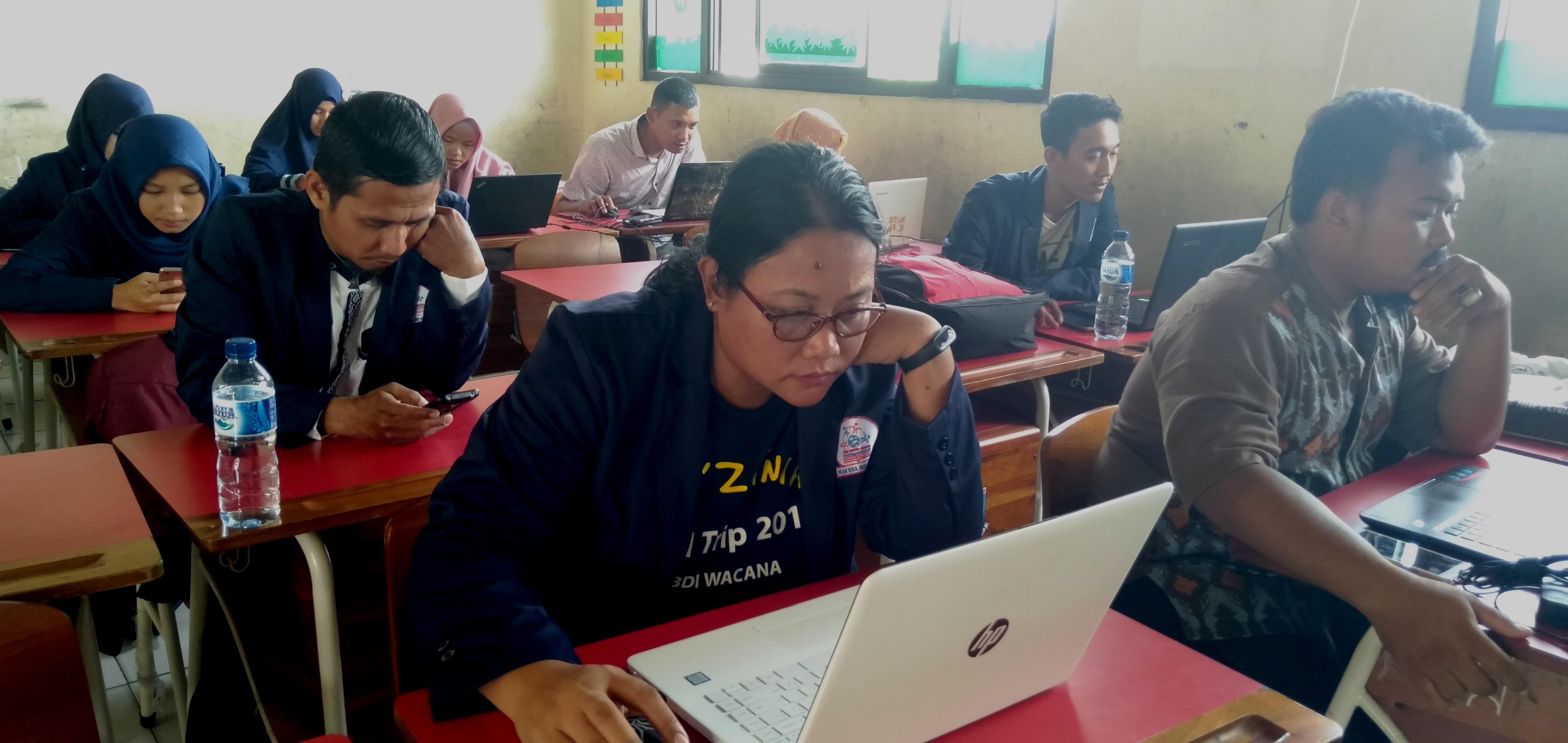 siswa paket C iPS sedang USBN online